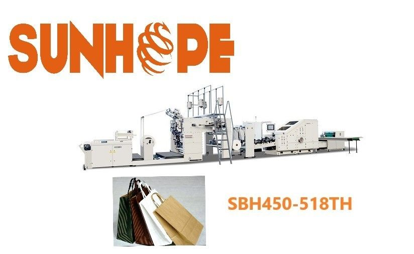 27.05kw 120 bags min Fully Automatic Paper Bag Machine